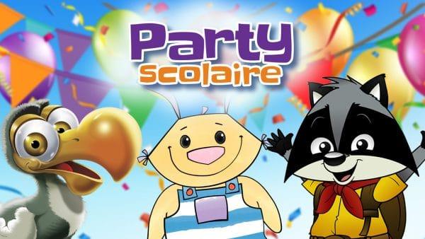 partys scolaires héros en classe